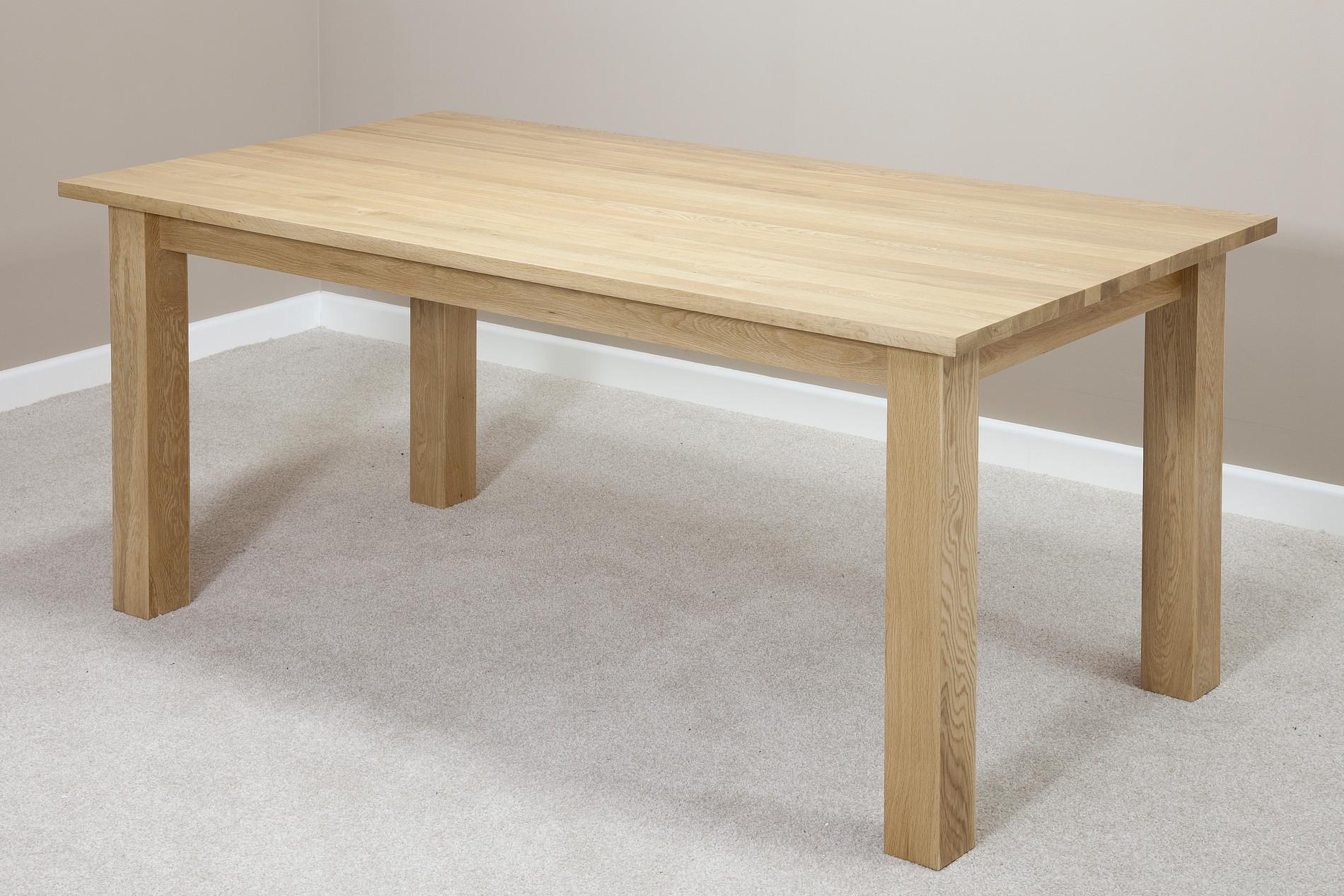 Маса от дъб  - КОНАС ООД  - производство на  мебели от масив, дървен материал и дървен материал за строителството