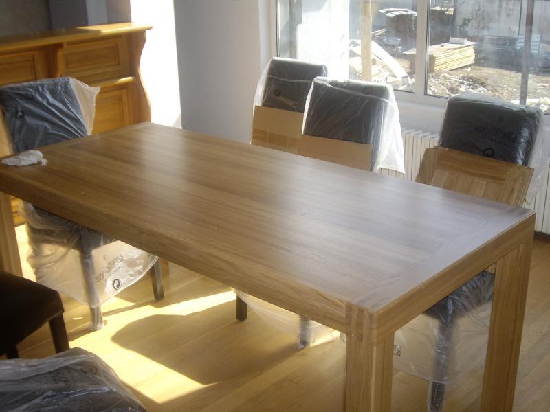 Дъбова маса - КОНАС ООД  - производство на  мебели от масив, дървен материал и дървен материал за строителството