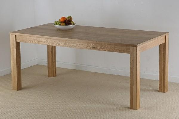 Маса от дъб масивна  - КОНАС ООД  - производство на  мебели от масив, дървен материал и дървен материал за строителството