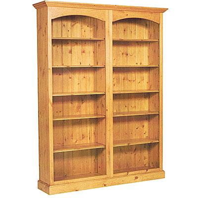 Библиотека двойна чам - КОНАС ООД  - производство на  мебели от масив, дървен материал и дървен материал за строителството