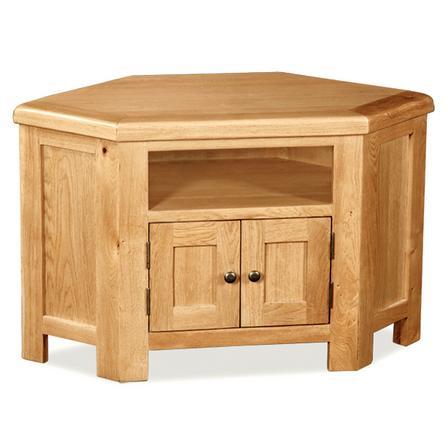 ТВ - шкаф дъб ъглов - КОНАС ООД  - производство на  мебели от масив, дървен материал и дървен материал за строителството