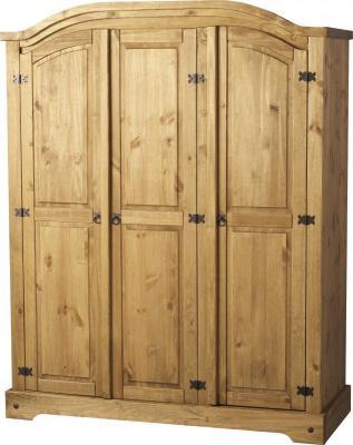 ТРИКРИЛЕН ГАРДЕРОБ БОР - КОНАС ООД  - производство на  мебели от масив, дървен материал и дървен материал за строителството