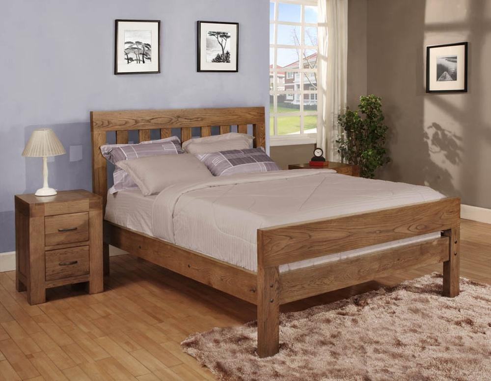 Спалня от дъб - КОНАС ООД  - производство на  мебели от масив, дървен материал и дървен материал за строителството