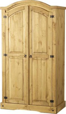 ДВУКРИЛЕН ГАРДЕРОБ БОР  - КОНАС ООД  - производство на  мебели от масив, дървен материал и дървен материал за строителството
