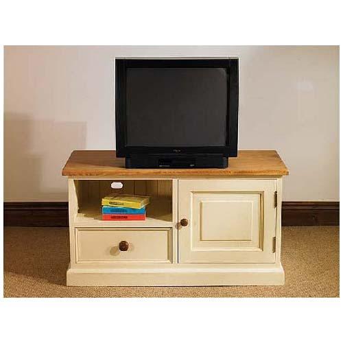 ТВ - шкаф чам бял - КОНАС ООД  - производство на  мебели от масив, дървен материал и дървен материал за строителството