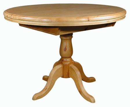 Кръгла маса  - КОНАС ООД  - производство на  мебели от масив, дървен материал и дървен материал за строителството