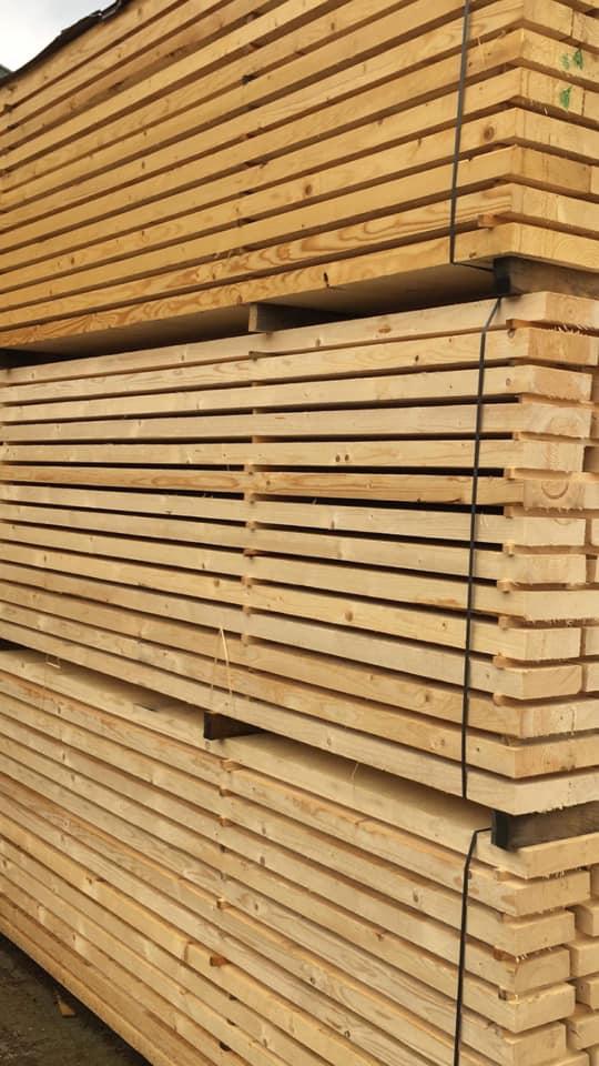 ТАЛПИ 3-4-5-7 СМ СМЪРЧ - КОНАС ООД  - производство на  мебели от масив, дървен материал и дървен материал за строителството